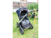 Classic Bugaboo Cameleon I rare Denim Special Edition with MAXI COSI Seat and lots of extra