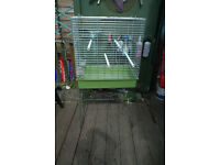 PARROT/BIRD CAGE ON STAND