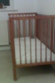 New cot and mattress. Never been used.