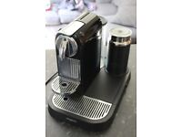 Magimix Nespresso Coffee Machine With Cordless Milk Warmer And Frother