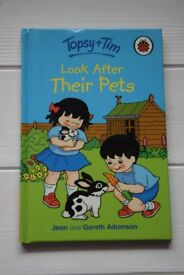 TOPSY + TIM 'LOOK AFTER THEIR PETS' BOOK