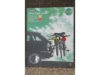 Halfords Three Cycle Carrier - as new