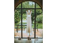 Stunning David Fielden 8558 Ivory Wedding Dress