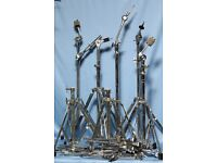 Was £35 NOW £20!!! Big Job Lot of cymbal stands etc., 7 stands, Pearl and others. Excellent lot.