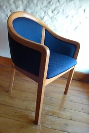 Four Tub Style Chairs