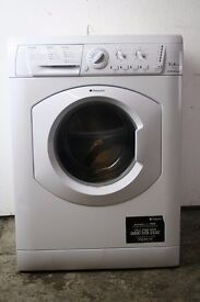 9KG Hotpoint Washing Machine, Excellent Condition, 6mo Warranty, Delivery and Install Available