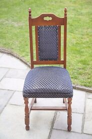 fully upholstered, comfy dining chair (3 available)