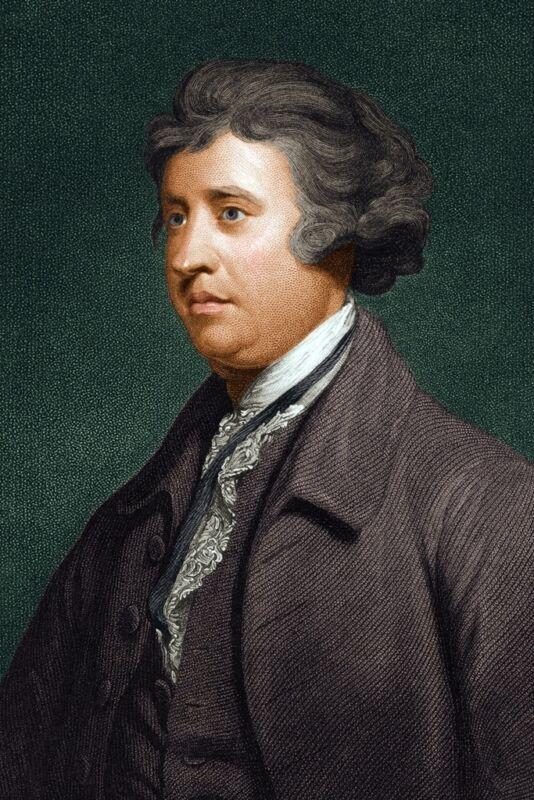 New 5x7 Photo: Irish Statesman, Political Theorist & Philosopher Edmund Burke