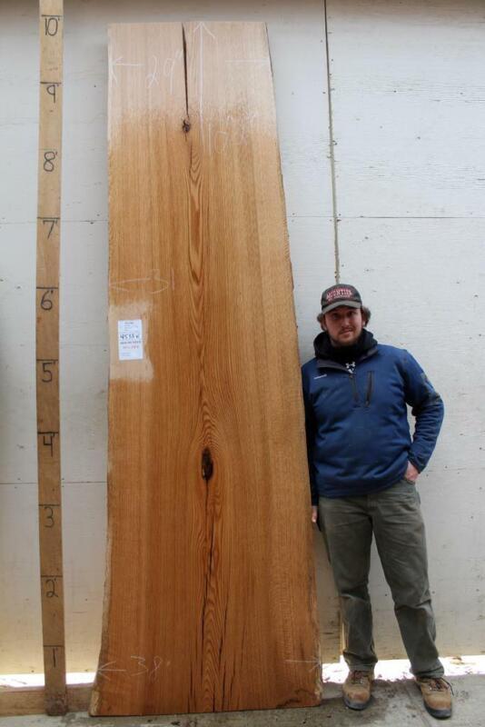 Wide Red Oak Wood Slab Bar Top DIY Natural Live Edge Wooden Countertop 4533x1