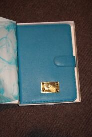 Reeves & Co iPad Mini Case Creulean Leather Brand New/never used