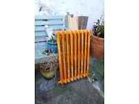 Victorian cast iron radiator, slimline, rare, renovation