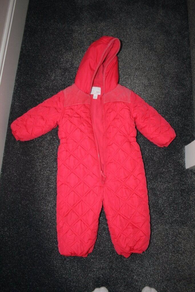4aeaf0601 pretty cheap 47538 2648f next snowsuit girls 12 18 months ...