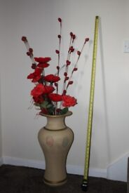 ABSOLUTE BARGAIN BEAUTIFUL ARTIFICIAL SILK OR SILK LIKE POPPY FLOWERS.