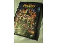 Avengers Infinity war dvd (NEW)