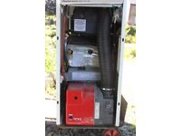 Used Greenstar Camray Utility oil fired condensing boiler