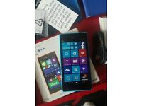 Nokia Lumia BLUE 735 mobile phone