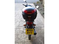 Honda 125. Low mileage. Ideal Learner/Commuter Bike