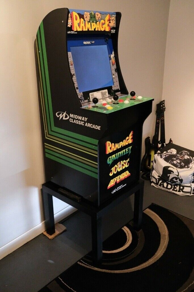 Arcade1UP Rampage Upright Arcade Games Machine With Extra Button For  Defender! | in Bradford, West Yorkshire | Gumtree