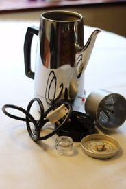 REDUCED Vintage rare Electric Coffee Percolator in Full working condition
