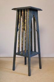 Mahogany Plant Stand - Blue Bird Collection