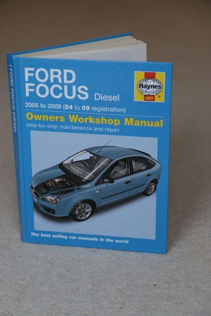 FORD FOCUS - Haynes Workshop Manual. Diesel 2005 - 2009