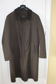 Gents Bugatti overcoat with removable lining
