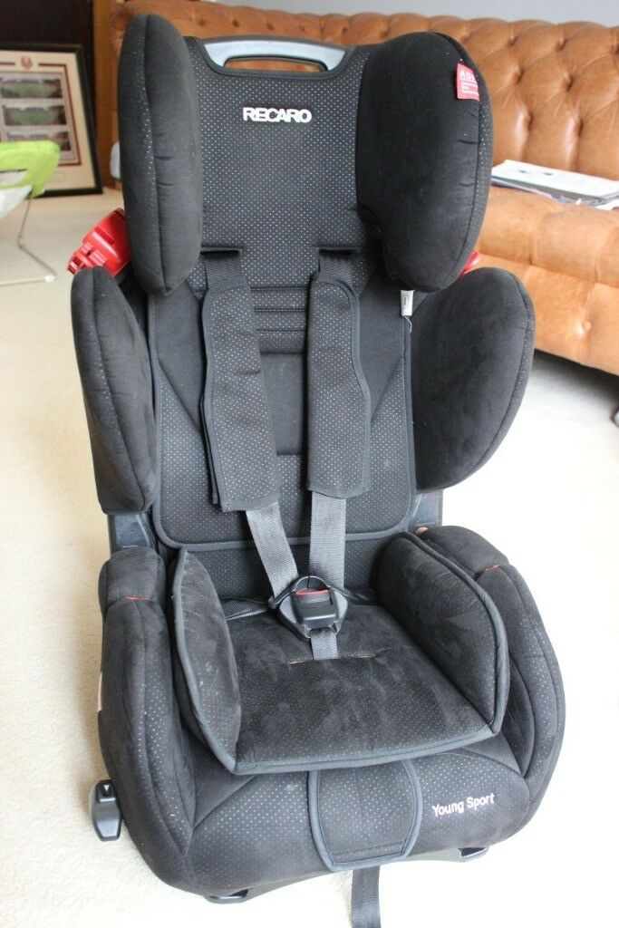 Recaro Young Sport Child Car Seat Group 123 Excellent Condition