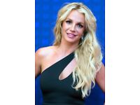 Britney Spears @ O2 London 2 tickets - 25th August - £60 each