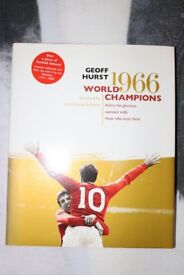 Geoff Hurst World Champions Hardback Book
