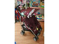 Cosatto double pushchair with raincover