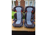 Graco Junior Maxi Car seats (with cup holders) 15-36 kg (GBP 30.00 each or 50.00 for both)