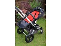 Bugaboo Cameleon 2 in amazing condition with Andy Warhol print hood and bag and lots of accessories