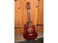 Takamine EF508C Electro Acoustic Guitar Japan.