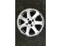 Pair of renault alloy wheels for sale