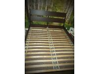 KING SIZE BED FRAME *new*