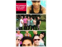 HOT MOMMAS BOOTCAMP - Women's only outdoor fitness class. Suitable for all levels of fitness.