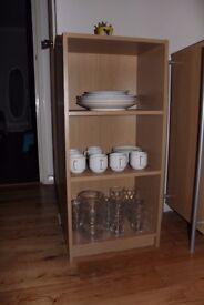 3 shelves open cupboard for sale