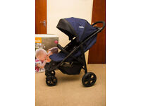 Joie litetrax 4 Eclipse (navy) BRAND NEW pushchair like iCandy or Silver Cross