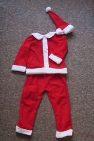 Kids Santa Costume *as new