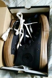 NEW Converse canvas boots. 2 pairs. Size 4.5. Still in boxes and unworn