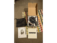 Shure SRH 840 Headphones **BRAND NEW BOXED**