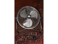 "12"" Electric fan chrome clearance"