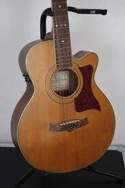 Tanglewood 12 String Electric/Acoustic Guitar TW 145 12 SC