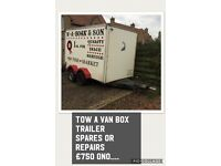 Box trailer spare or repair
