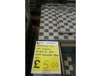 ONLY £5 per box! Limited Stock! New Ceramic Tiles!