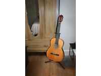 Full size nylon stringed guitarl guitar