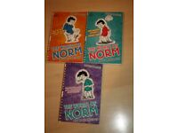 3 x The World of Norm books by Jonathan Meres