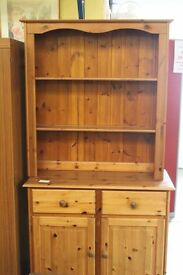 Wooden display unit (from Cambridge Re-use, a Charity Organisation)