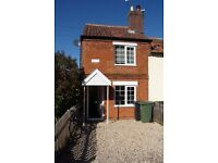 To Let- Two bedroom Victorian end of terrace house to rent in Wymondham
