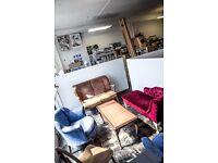 HACKNEY DOWNS STUDIOS / Heartspace 6: Desk, office in a shared, creative studio / East London